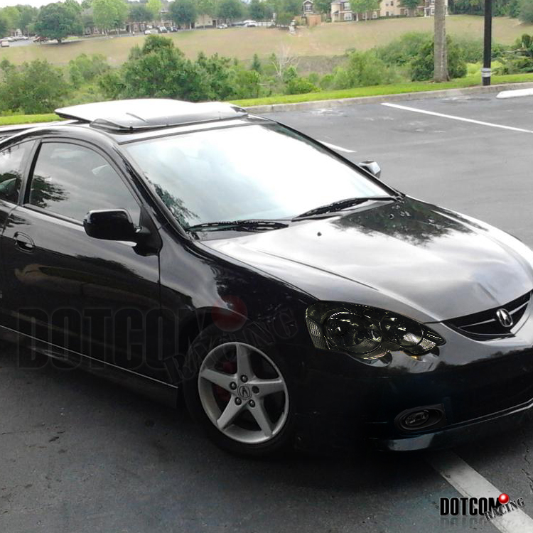 smoke 02 04 acura rsx dc5 crystal headlights bumper fog lamps ebay. Black Bedroom Furniture Sets. Home Design Ideas
