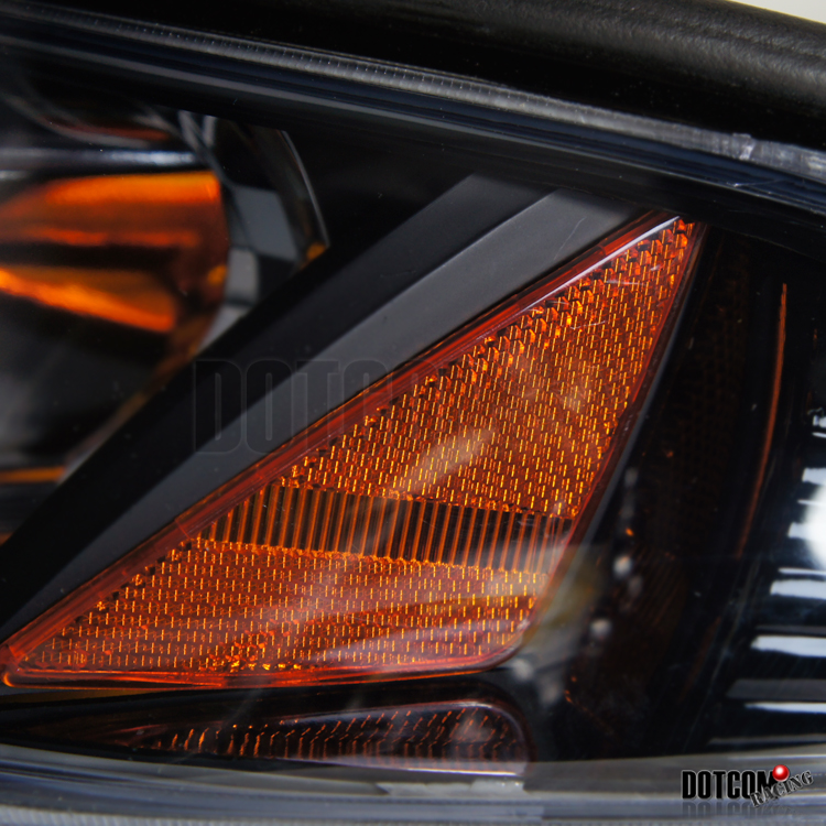 black 94 98 mustang headlights altezza smoke tail brake lights ebay. Black Bedroom Furniture Sets. Home Design Ideas