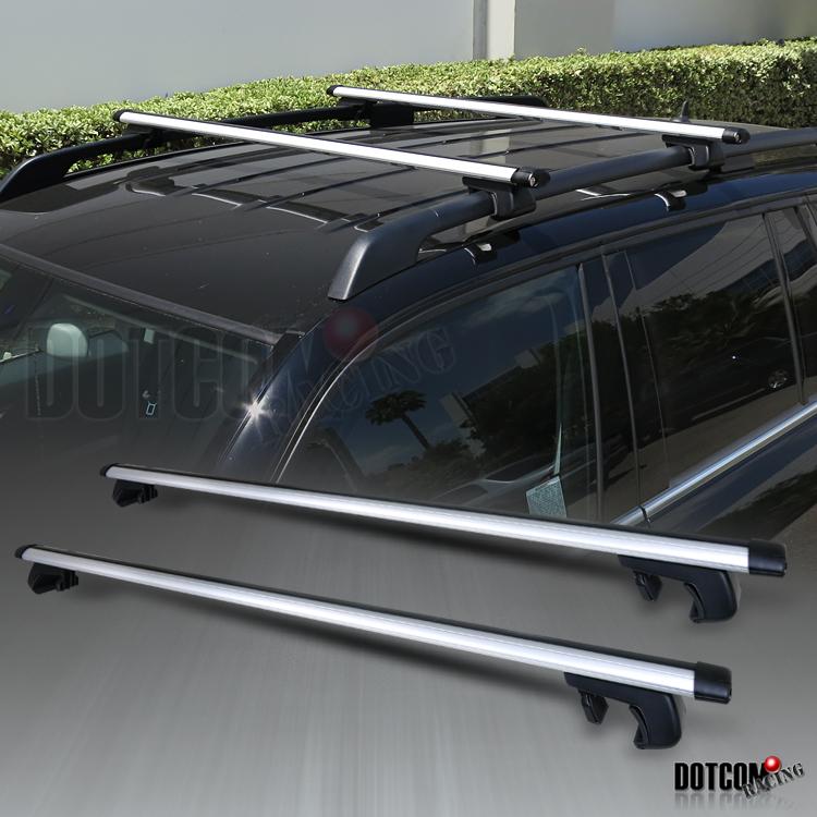 "ADJUSTABLE 48"" AUTO SUV CAR ROOF TOP CROSS BARS LUGGAGE ..."