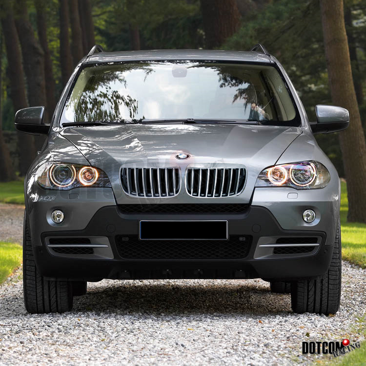 Bmw X6m For Sale: Chrome Front Hood Grille For BMW 07-12 E70 X5 X50 / 08-12