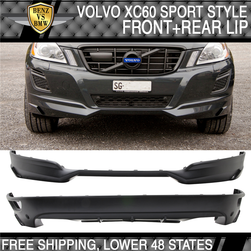 2015 Volvo Xc60 Review: 2009-2013 Volvo XC60 HV IV SPORT Style Front+Rear Bumper