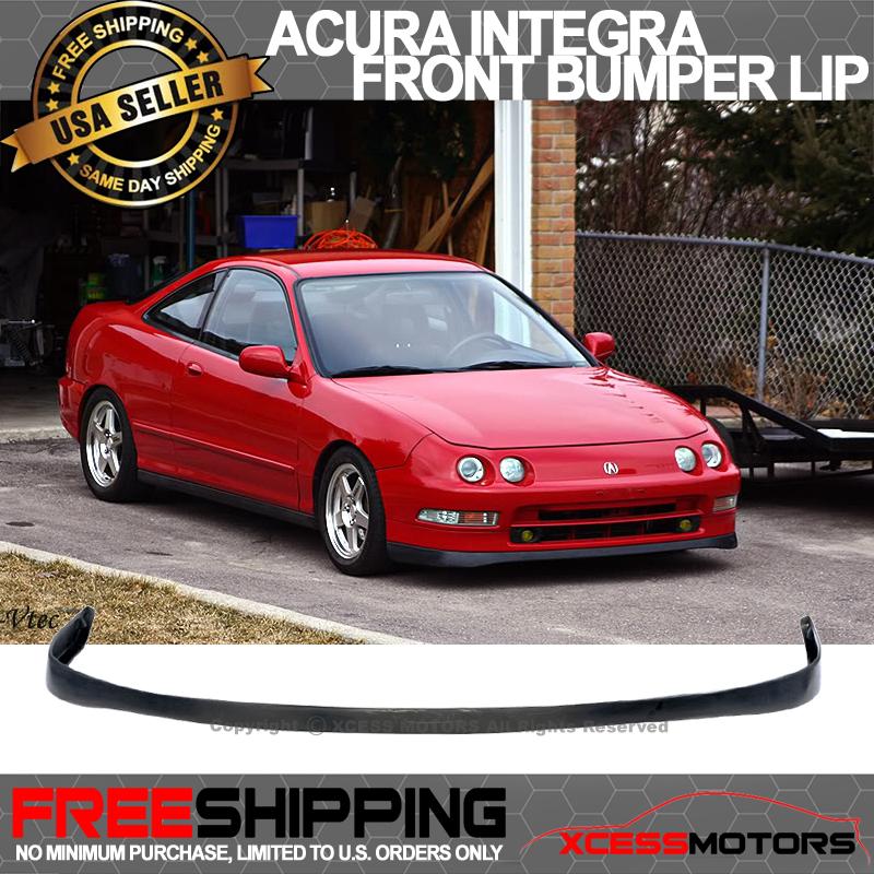 Fit 94-97 Acura Integra Si Vtec SIR Front Bumper Lip
