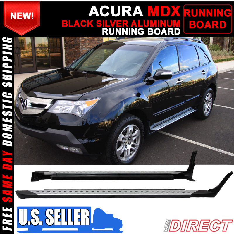 07-09 Acura MDX Side Step Nerf Bars RaiLS Running Boards