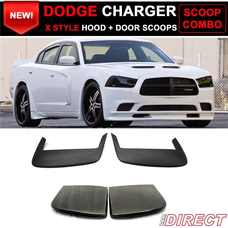 dodge charger hood scoops free shipping autos post. Black Bedroom Furniture Sets. Home Design Ideas