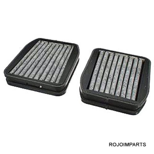 Mercedes w211 e320 e500 e55 cabin air filter charcoal pair for Mercedes benz e350 cabin air filter