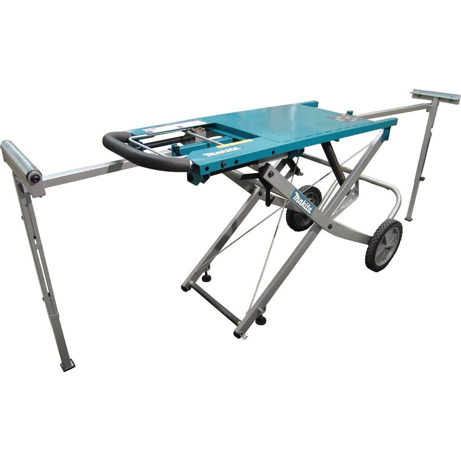 Makita 195083 4 Job Site Rolling Miter Saw Stand With 5 Height Settings Ebay