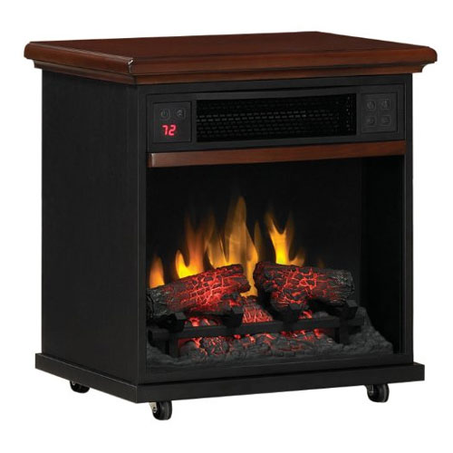 DuraFlame PowerHeat Infrared Quartz LED Portable Fireplace Heater - 20IF300GRA at Sears.com