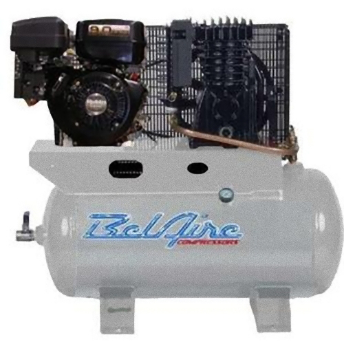 BelAire BelAire 59G3HR 9-HP 30-Gallon Horizontal Gas Powered Truck-Mount Air Compressor