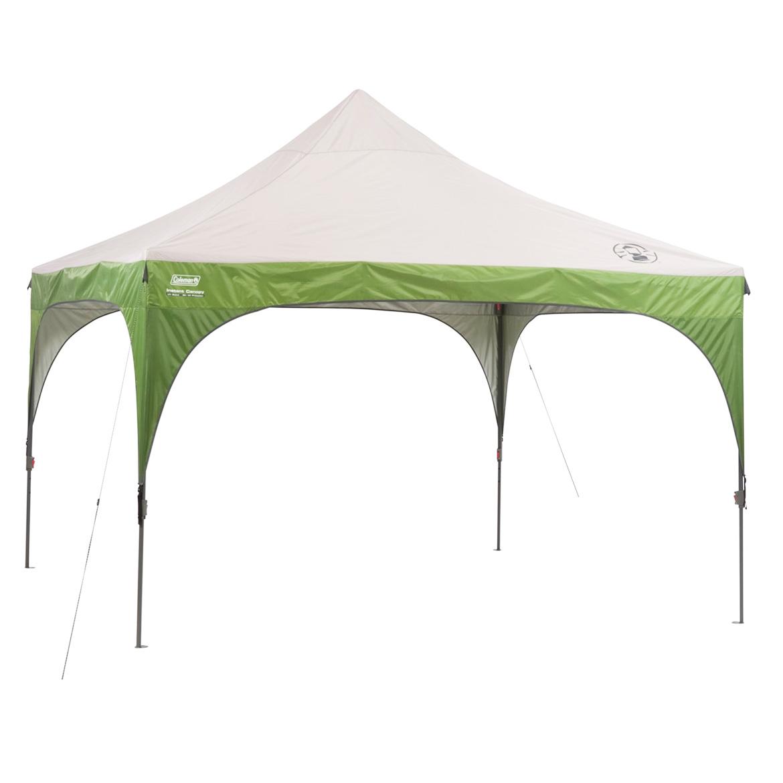 12 12 Folding Canopy : Coleman foot portable instant sun