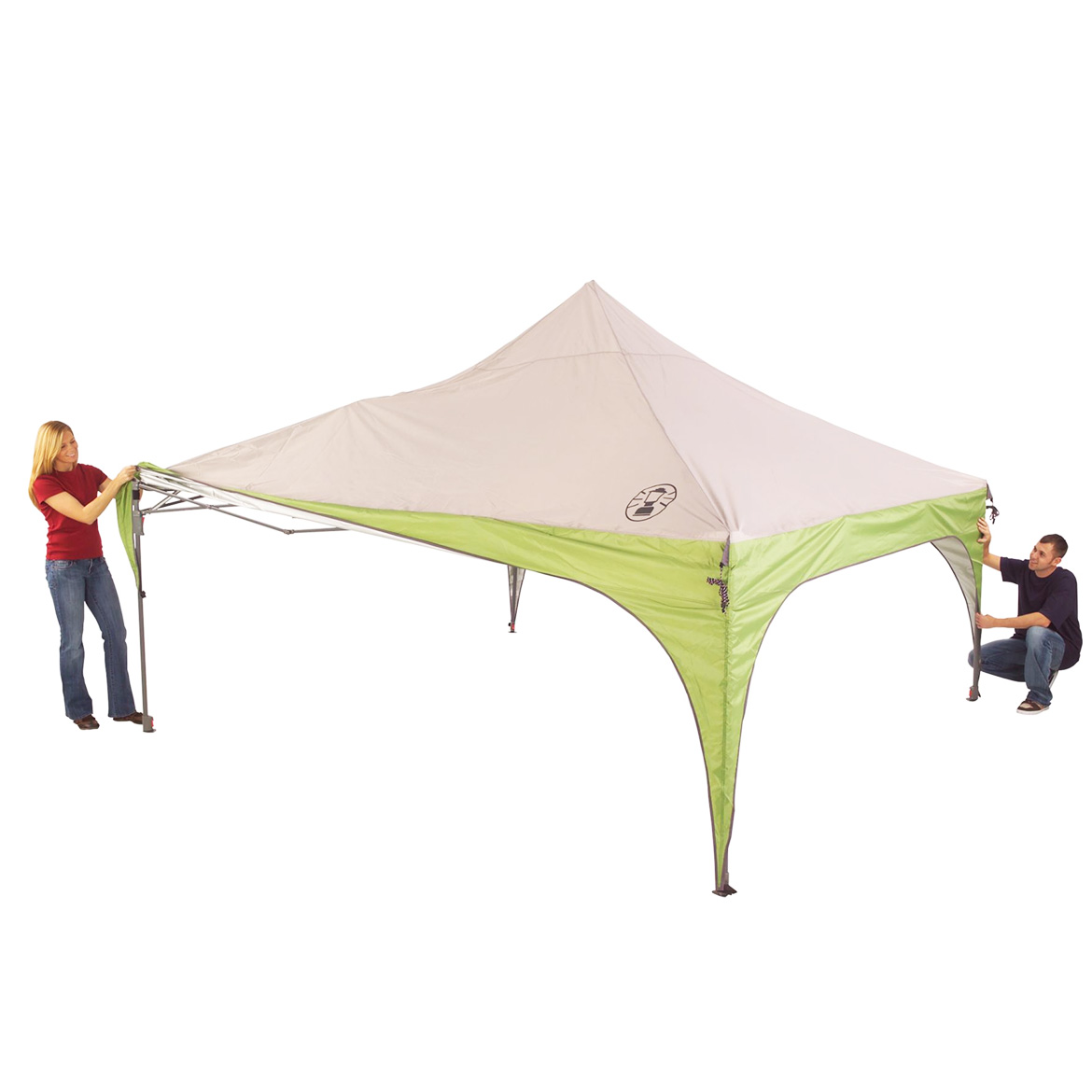 Coleman Canopy Shelter : Coleman foot portable instant sun