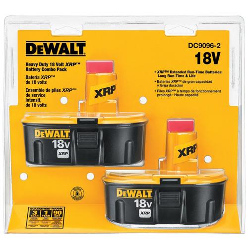 dewalt 18v battery warranty