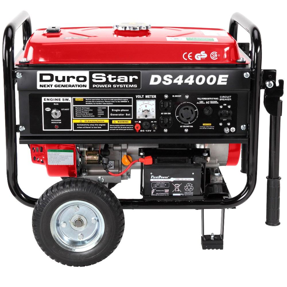 DuroStar 4400 Watt Quiet Portable Electric Start RV Gas