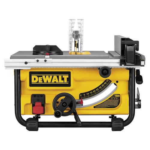 DeWalt DW745 10-Inch Compact Job-Site Table Saw Max Rip Capacity Tool at Sears.com
