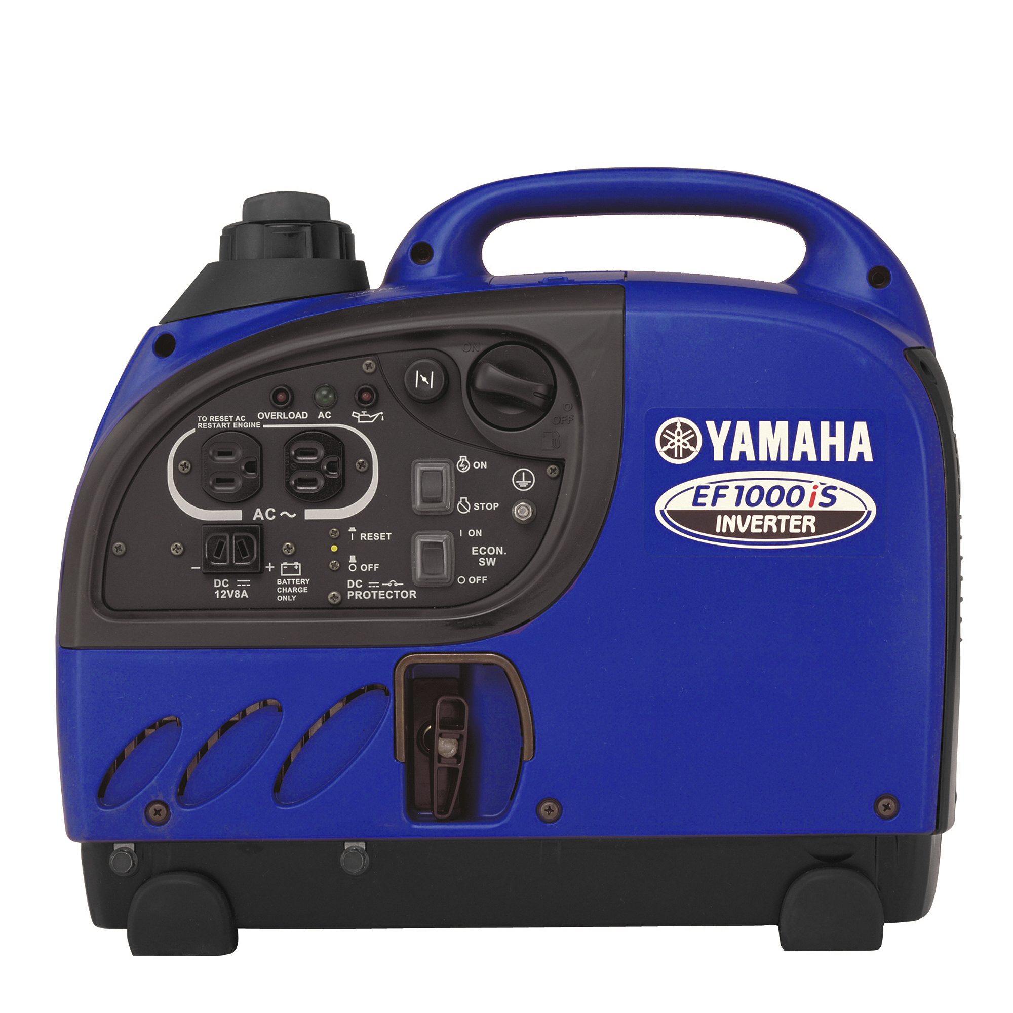 Yamaha ef1000is 1 000 watt ohv gas powered portable for Yamaha generator ef1000is