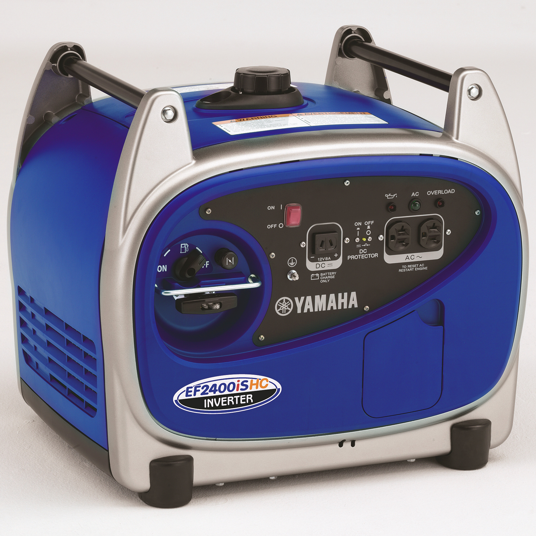 yamaha ef2400ishc 2 400 watt gas powered portable rv