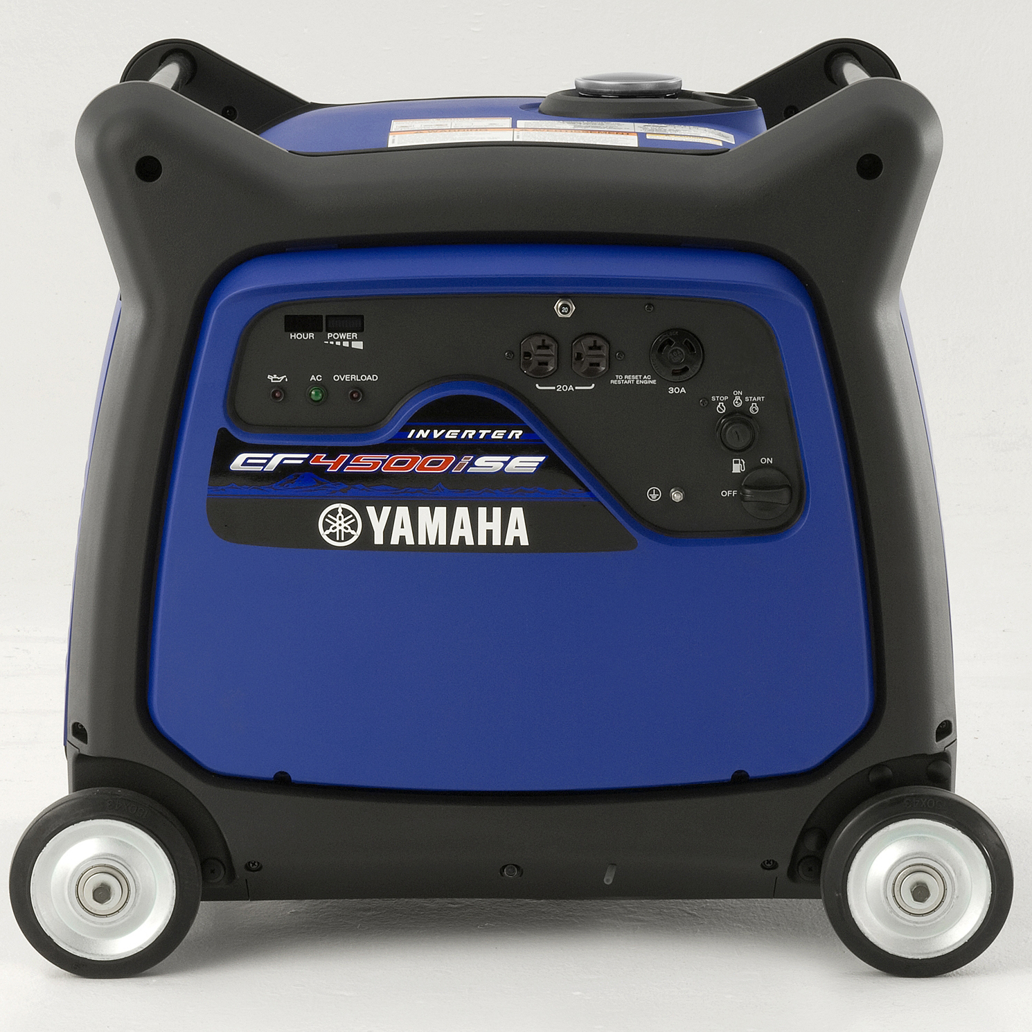 Yamaha ef4500ise 4 500 watt electric start gas power for Yamaha inverter generator 4500