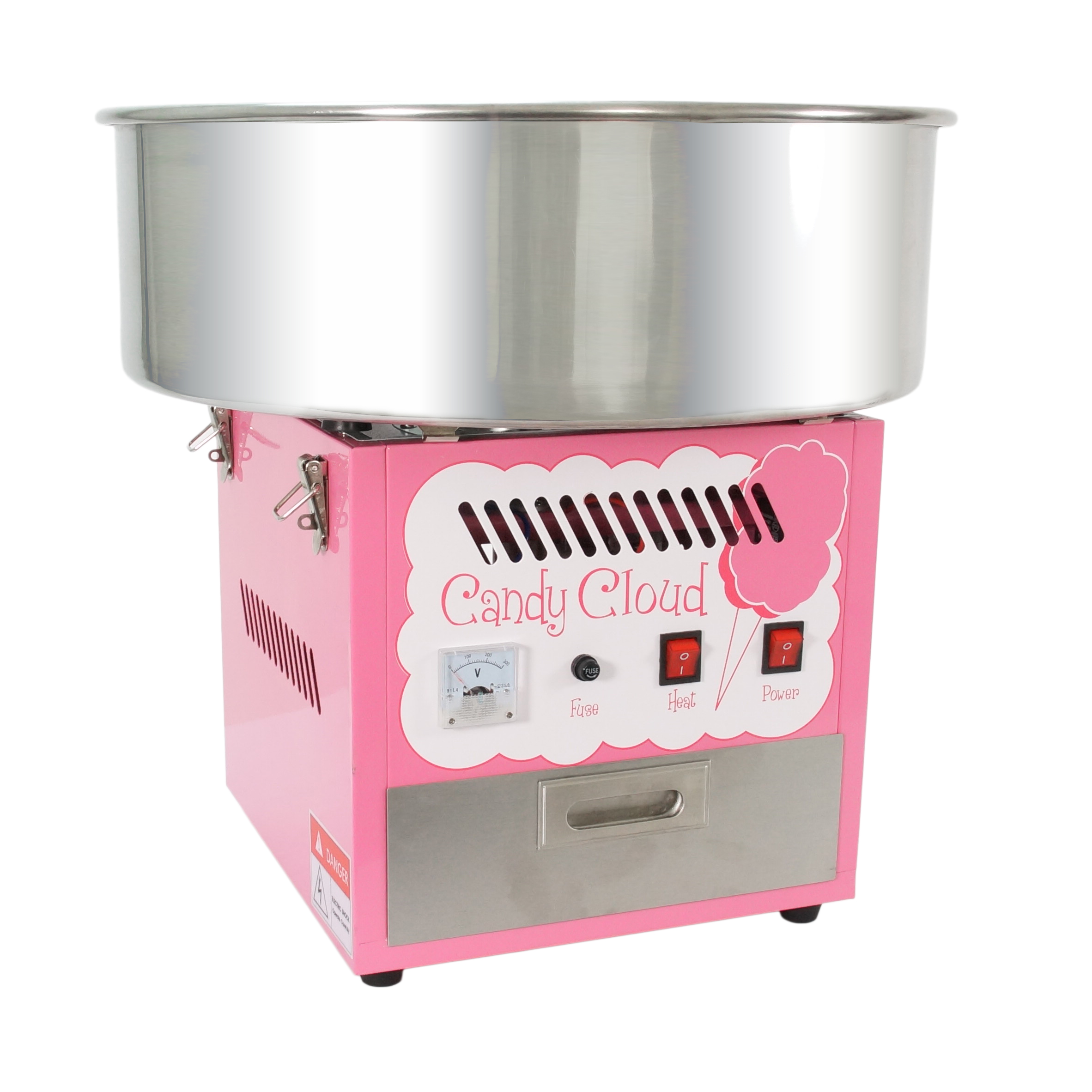 Fun Time Commercial Candy Cloud Cotton Hard Candy Machine Floss Maker - FT1000CC at Sears.com