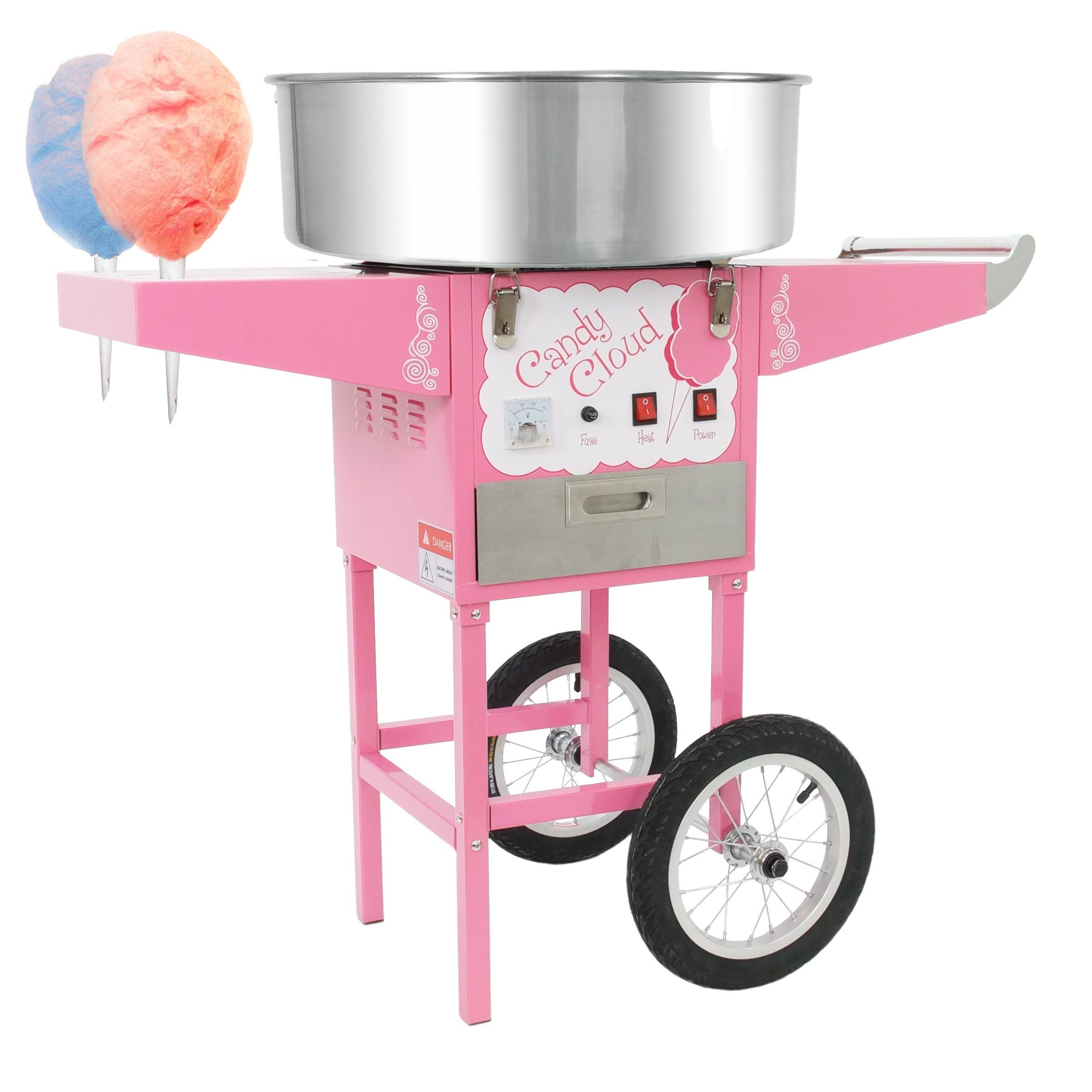 vevor cotton candy machine instructions