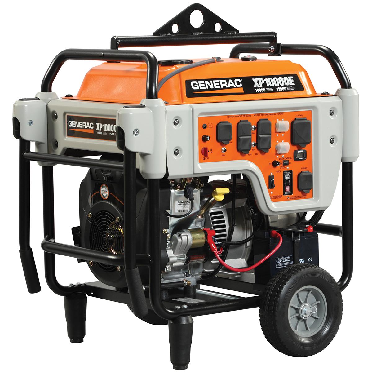 generac 5932 xp10000e 10 000 watt electric start gas