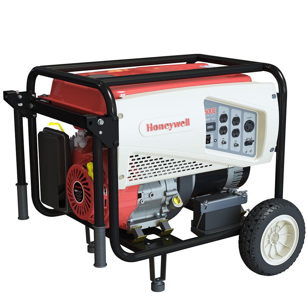 Honeywell 6037R 389cc 5,500-Watts Gas Powered Portable
