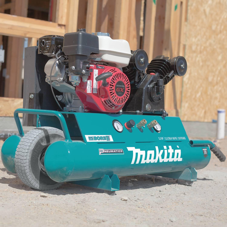 Makita Air Compressor : Makita mac g hp psi v twin big bore gas
