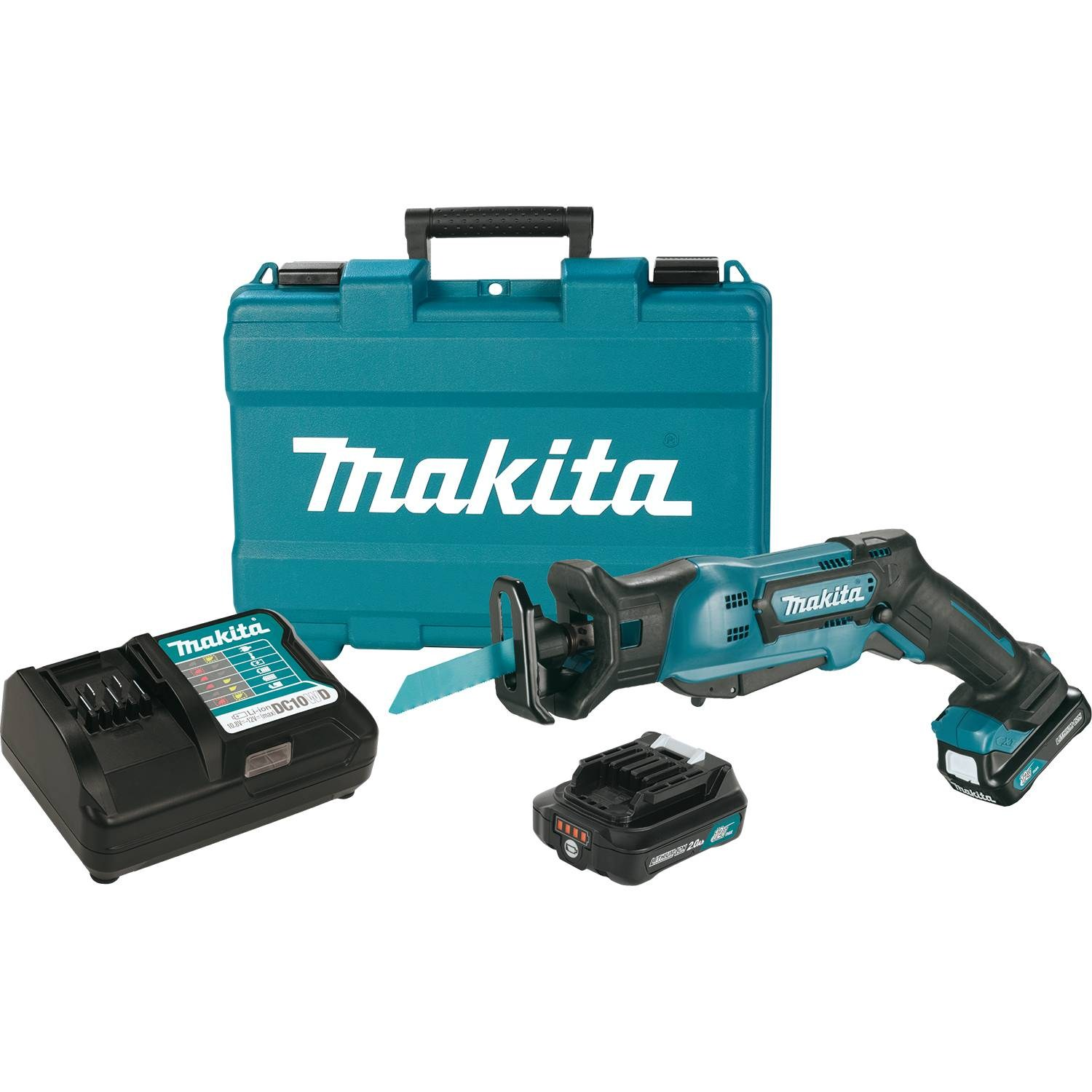 makita rj03r1 12 volt 2 0ah max cxt lithium ion cordless reciprocating saw kit ebay. Black Bedroom Furniture Sets. Home Design Ideas