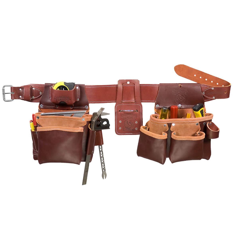 occidental leather 5087m framers framing tool bag set