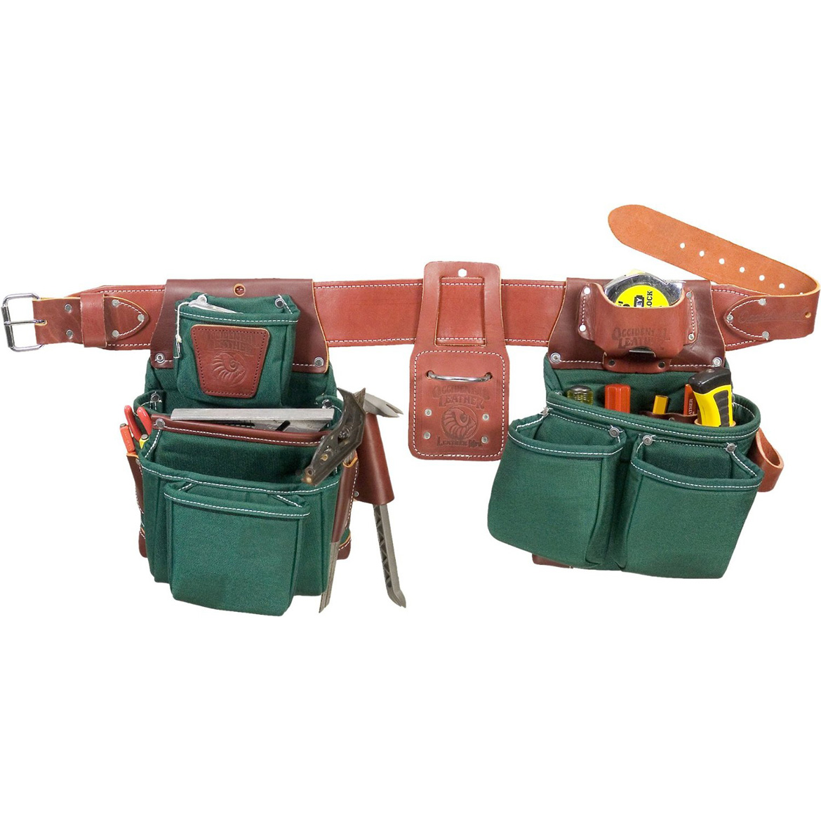 occidental leather 8089m oxylights framer framing tool bag