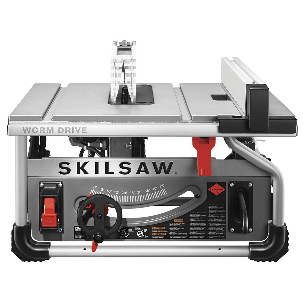 Skil spt70wt 22 10 inch 15 amp worm drive table saw with for 10 inch table saw blades