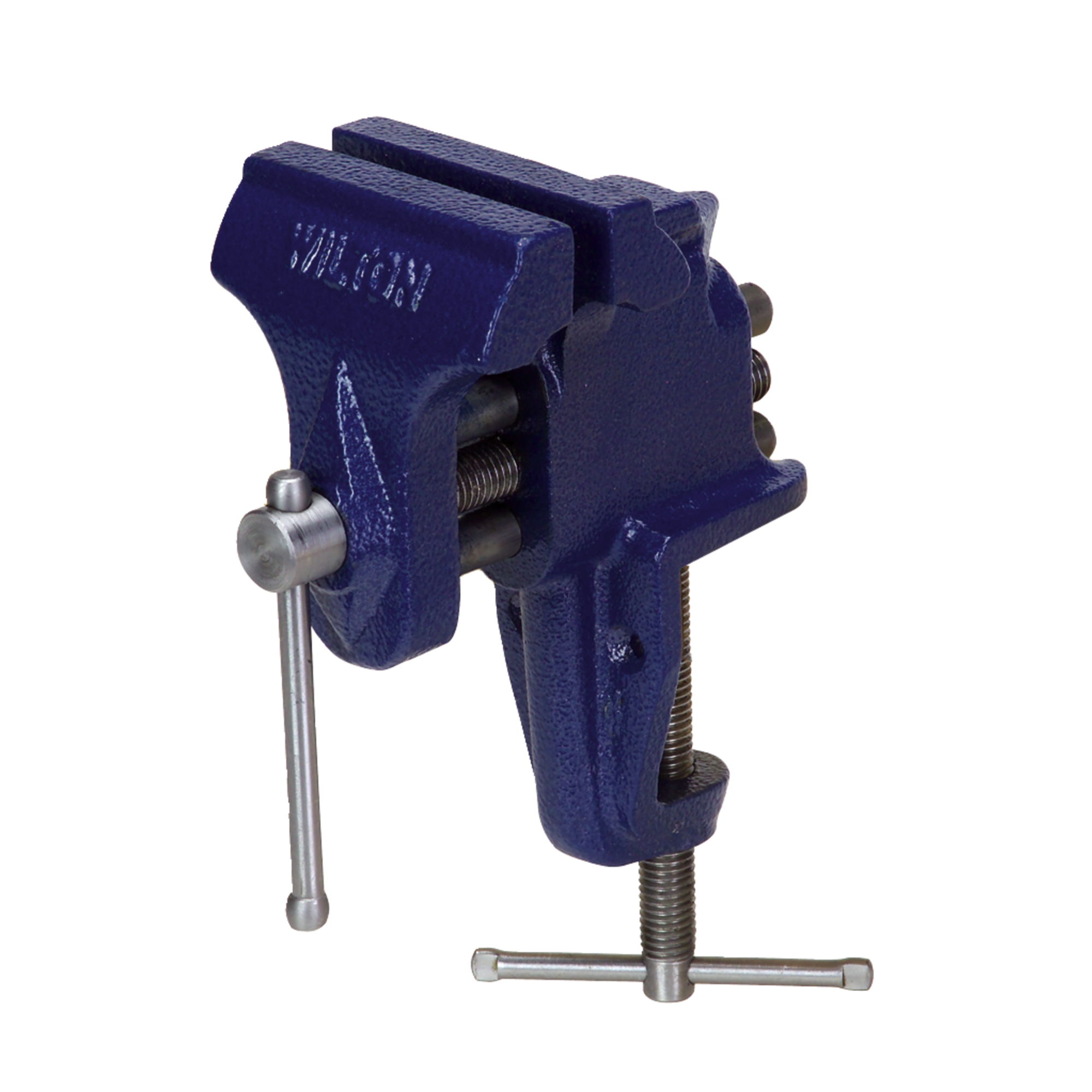 Wilton quot jaw clamp on bench vise opening