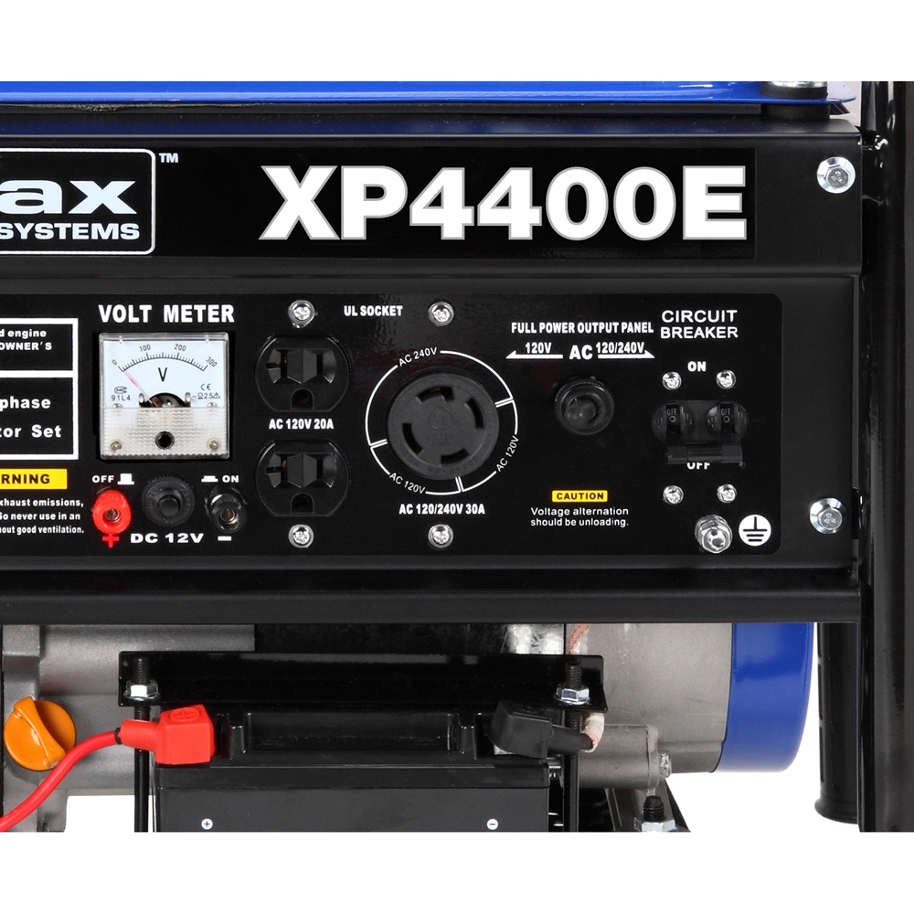 Duromax Xp4400e Rv Grade 4400 Watt 70 Hp Gas Generator W Electric Knox Box Wiring Diagram Only As Strong Its Core The Unit Features A 7 Horsepower Air Cooled Engine And Is Designed With Low Oil Shutoff Sensor To Protect