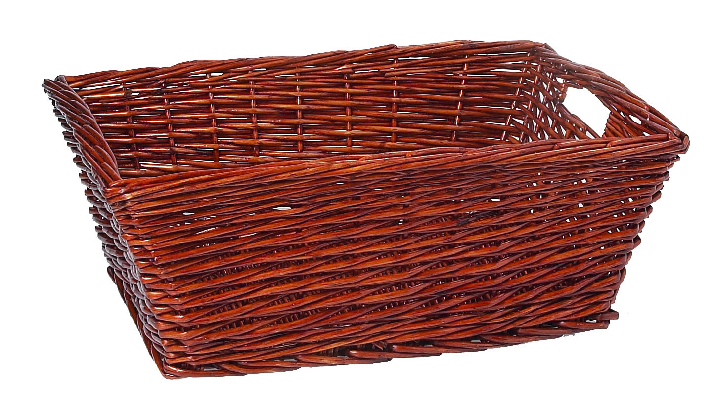 Primex rectangular cane wicker hamper storage laundry tub basket new ebay - Cane laundry hamper ...