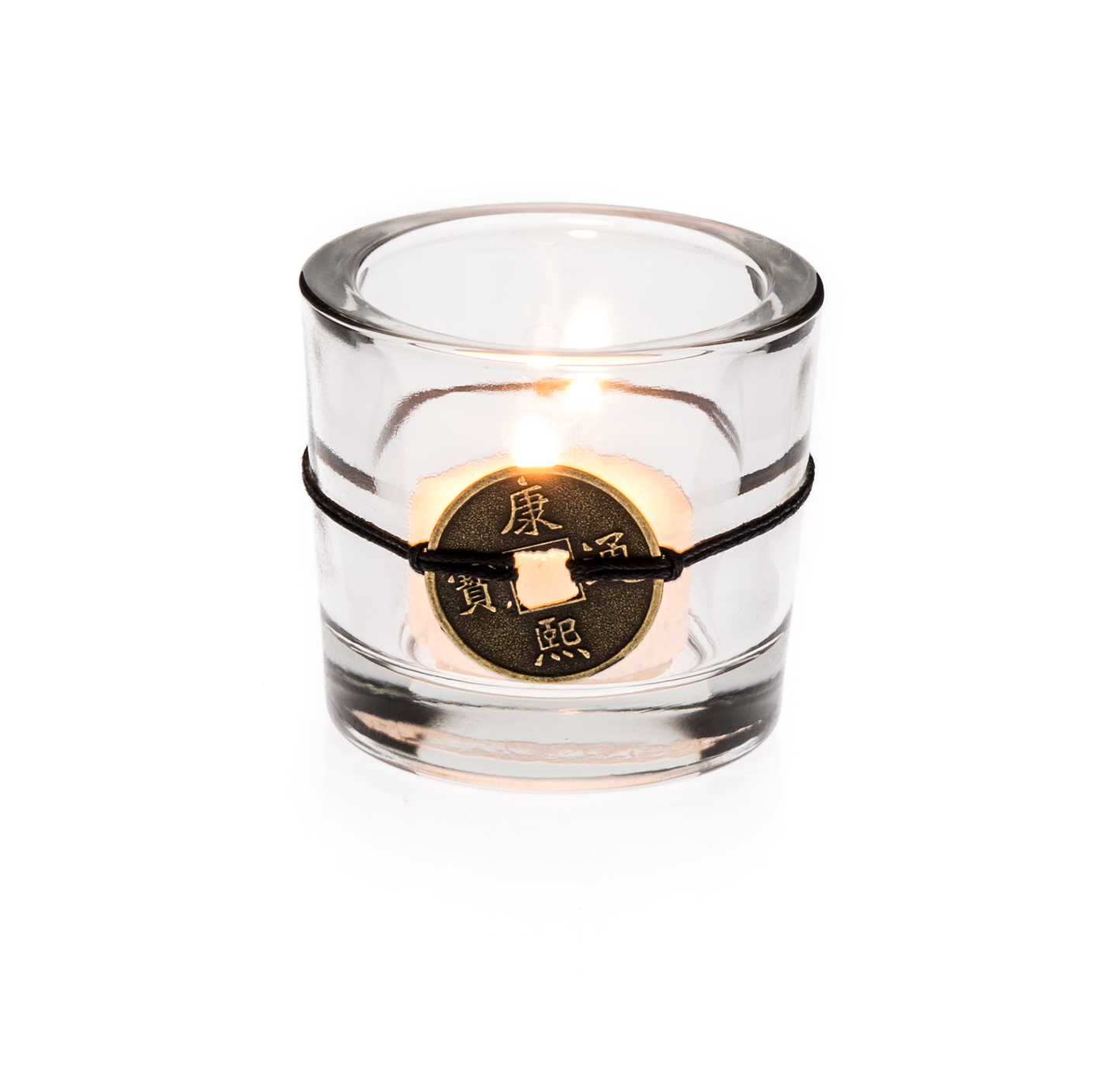 Casa-Uno-Glass-Tealight-Candle-HolDers-Home-Decor-Clear-NEW