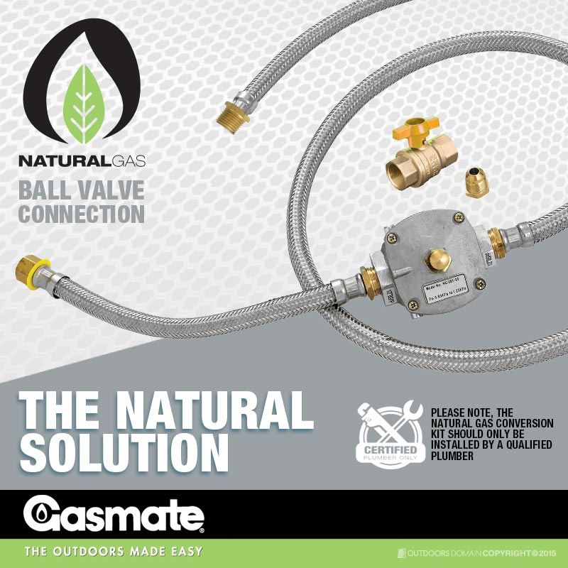 gasmate natural gas conversion kit instructions