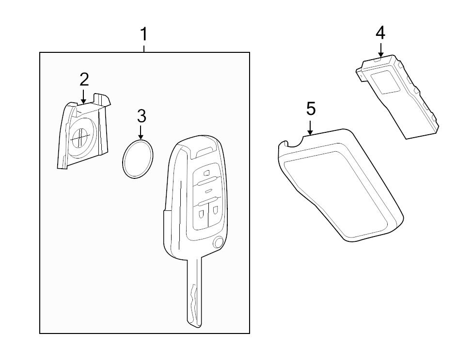 replacement factory keyless entry remote control   page  2