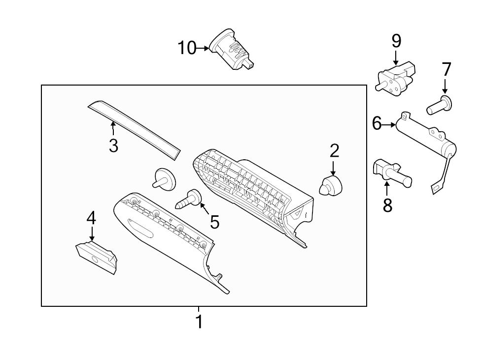 Parts For Ford Explorer Glove Box on 2005 mercury mountaineer problems
