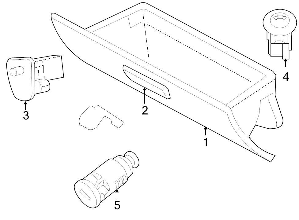 Service manual [How To Install Glove Box Handle 2008