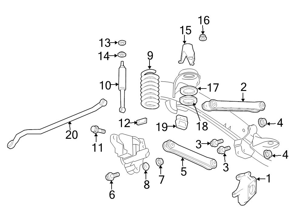 new genuine oem front suspension spring isolator 2009