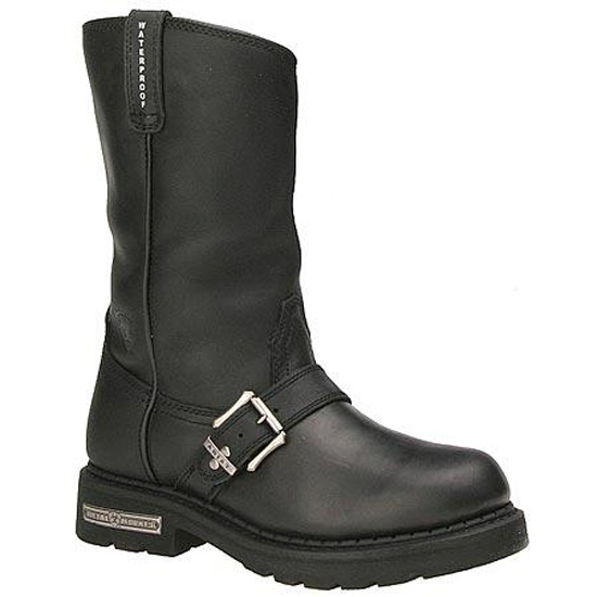 Ariat Alloy H20 Motorcycle Boot, Black - Choose Size