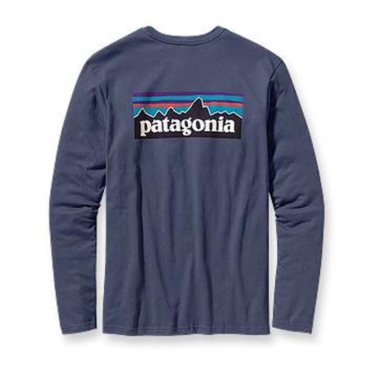Patagonia-Mens-Long-Sleeve-Logo-Tee-Choose-Size-Color
