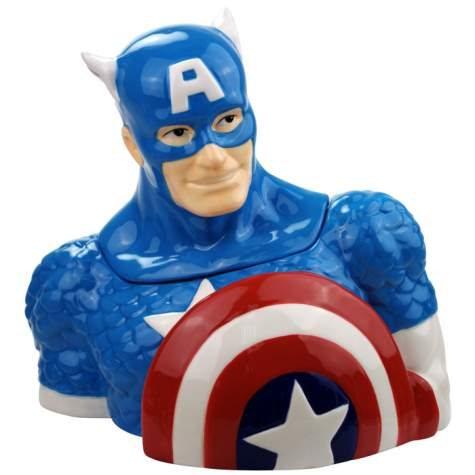 Marvel Comics Super Hero Captain America Ceramic Cookie
