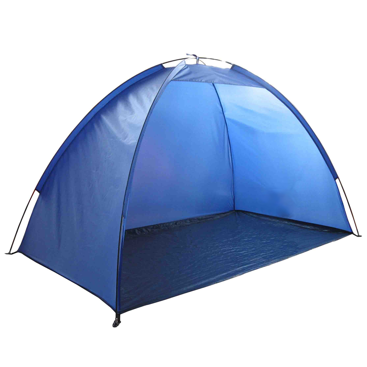 Cabana Portable Shelter : Blue portable sun shade shelter cabana beach protection