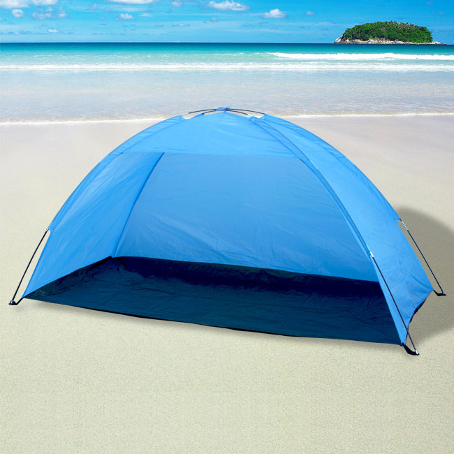 new portable pop up cabana beach shelter infant sand tent sun shade outdoor uv ebay. Black Bedroom Furniture Sets. Home Design Ideas