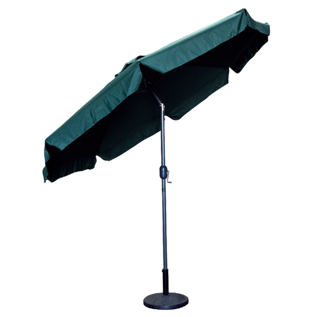 Patio Umbrella Replacement Parts: 9 Feet FT Outdoor Patio Umbrella Green Crank Market