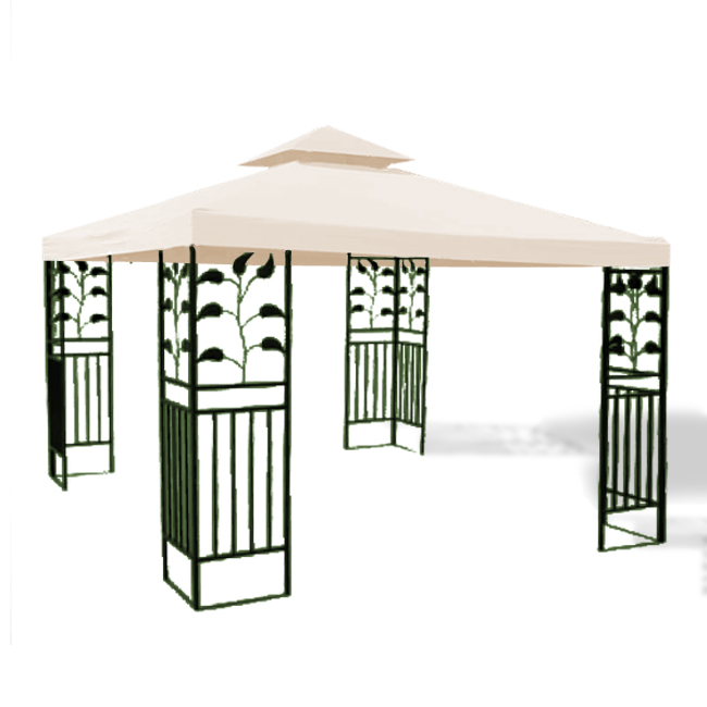 10 x 10 39 gazebo top cover outdoor canopy replacement patio - How to make a gazebo cover ...