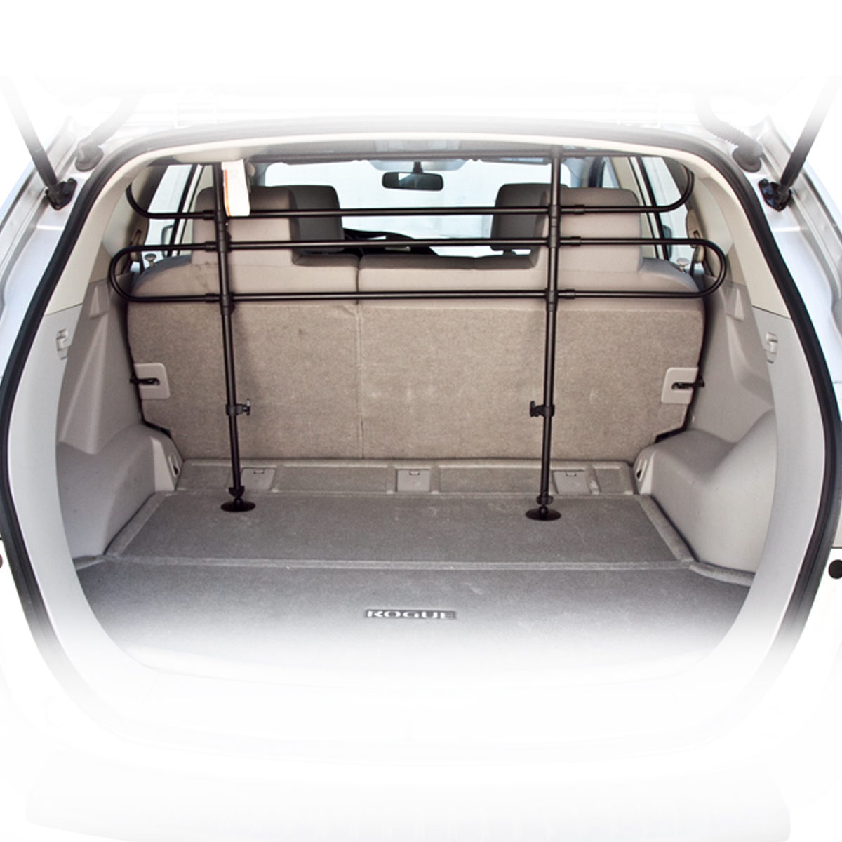 safety gate dog doggie blockers pet barrier fence suv car wagon auto stop access ebay. Black Bedroom Furniture Sets. Home Design Ideas