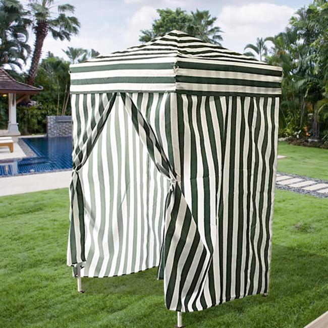 Changing Cabana Tent : Shower cabana camping pool beach tent changing beachez pop