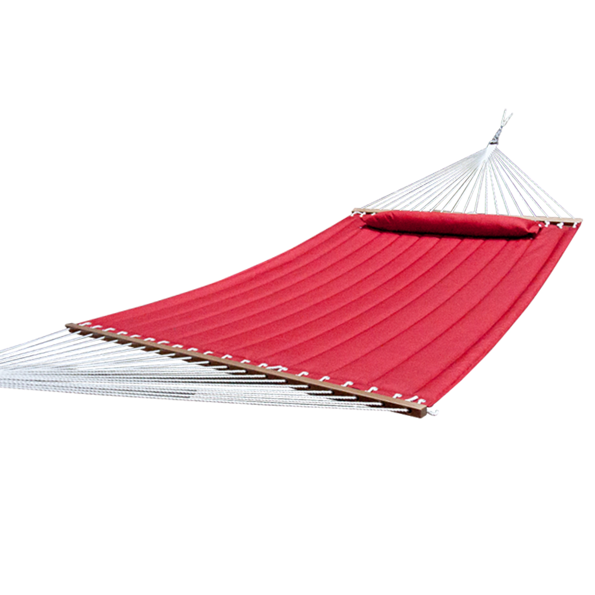 New quilted outdoor hammock cotton sleeping bed camping for Net hammock bed