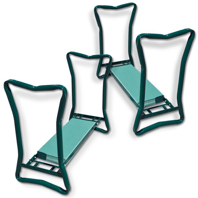 2 Portable Folding Garden Kneeling Sitting Knee Stool