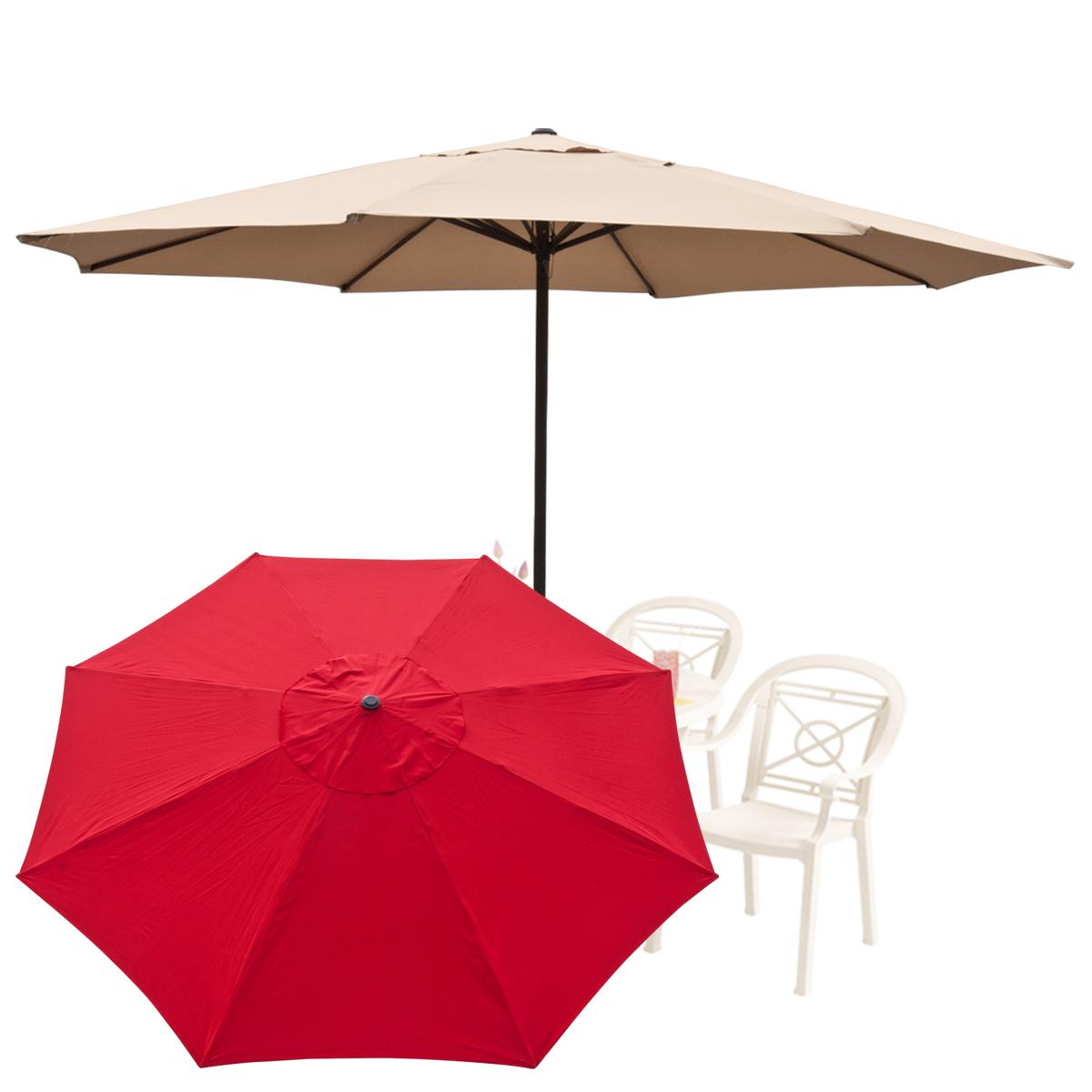 13 39 ft feet outdoor large patio umbrella tent deck gazebo for Outdoor patio umbrellas